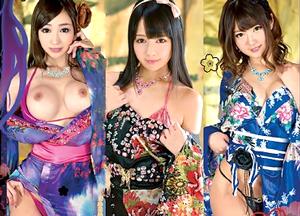 【4/24発売】日本の女性は美しい…花魁に扮した美少女達 蓮実クレア 川村まや