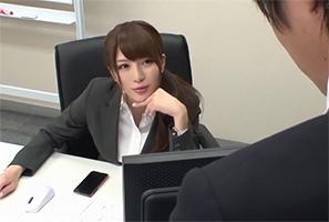 会社ではクールで怖いけど家では甘えん坊。上司兼彼女のギャップが溜まらねえwww