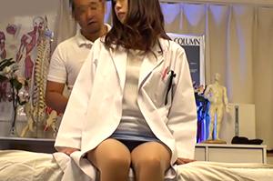 【盗撮】勉強ばかりしてたエリート女医が通う医療マッサージ施術院の実態…
