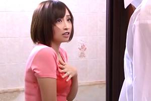 誤ってシャワーを浴びて下着が透け透けな隣の若妻に発情強姦☆