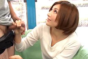 (MM号)経験豊富な短髪モデル妻が早漏改善のお手伝い