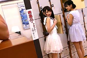 (銭湯のアルバイト)番台の特権で少女からヒトヅマまで裸を見放題☆