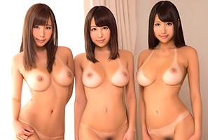 完全ヤリ目☆日焼けした美巨乳女子大学生三人組とサークルの夏合宿