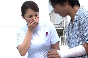 入院中に溜まってすぐボッキする僕を見てやらせてくれたヒトヅマ看護師
