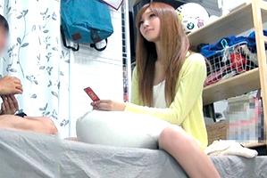 (キャッチ連れ込み)小顔モデル体型の女子大学生がデカチンに喘ぐ☆
