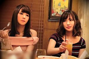 (隠し撮り)相席居酒屋で出会った期待を上回るモデル社内レディーと4P☆