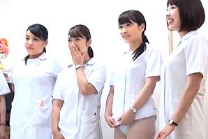 皆にナカ出し☆夜勤中の看護師さんを病院に集めて王様GAME☆