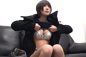(秘密撮影)面接に来た垢ぬけないロケット乳10代小娘をノンストップ2時間責め☆