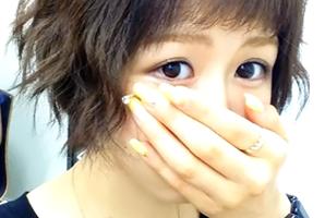 (シロウトキャッチ)超可愛い☆アイドル級の短髪社内レディーとH本番H交渉☆