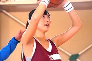 身長165cmセックスカップ☆BUSケ大国秋田のインハイ選手新人☆