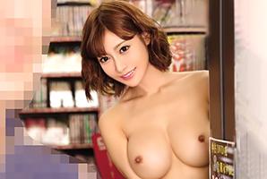 背後から裸の本人登場☆DVDを買ってくれたファンと即ハメ☆