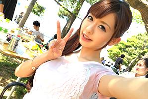 (キャッチ)お台場海浜公園のBBQスポットでビンカン塩吹きモデルゲット☆