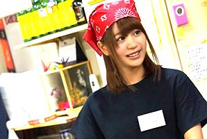 『アカン…もぅ凄い…』関西弁でイク姿がえろいお好み焼き屋店員