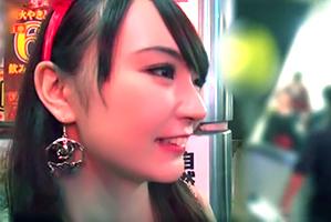 (シロウト)ハロウィンの渋谷で色っぽい美巨乳魔女をキャッチお持ち帰り☆