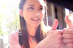 (シロウト)インバウンドの爆買い台湾美10代小娘にキャッチナカ出し成功☆