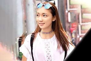 (シロウト)アジアンビューティーな台湾人女子大学生をキャッチ&ナカ出し☆