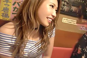 (シロウト)新宿の居酒屋でキャッチした美巨乳GALと終電まで飲んでsex☆