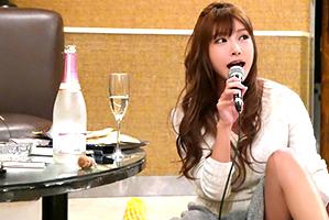 (秘密撮影)イベントの打ち上げで美巨乳モデルを泥酔させて朝までsex☆