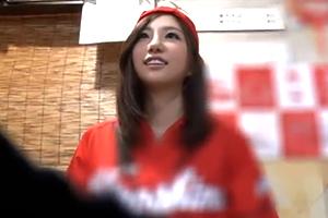 (スポーツBARキャッチ)広島が勝った勢いでヤれたモデルカープ女子
