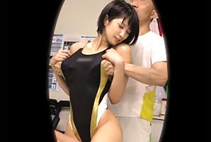 【盗撮】競泳で鍛えたクビレボディを整体師に犯される美人体育大生