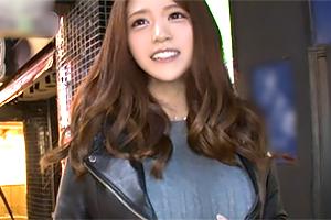 (シロウト)渋谷駅でキャッチした合コン帰りの秋田モデルロケット乳歯科衛生士