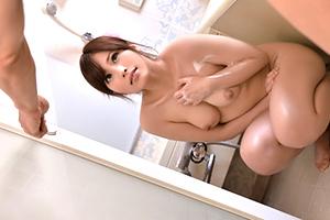 「きゃー☆☆」風呂でばったり出くわしたムスコの美巨乳ヨメに発情強姦☆