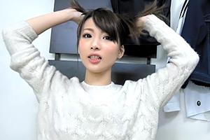 (シロウト)ネット生配信で乗せられてsex配信する北川景子級モデル