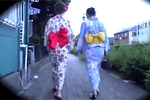 JAPANの夏、強姦の夏。花火に向かうモデル達の浴衣を剥ぎ取って犯す☆